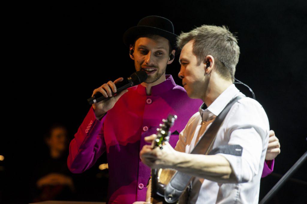 Herr Schmitt und Mazze Wiesner singen gemeinsam bei Schmitt singt Jürgens - Die Udo Show