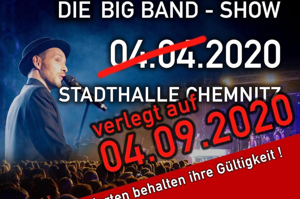 Termin für Udo Jürgens Show in Stadthalle Chemnitz verlegt