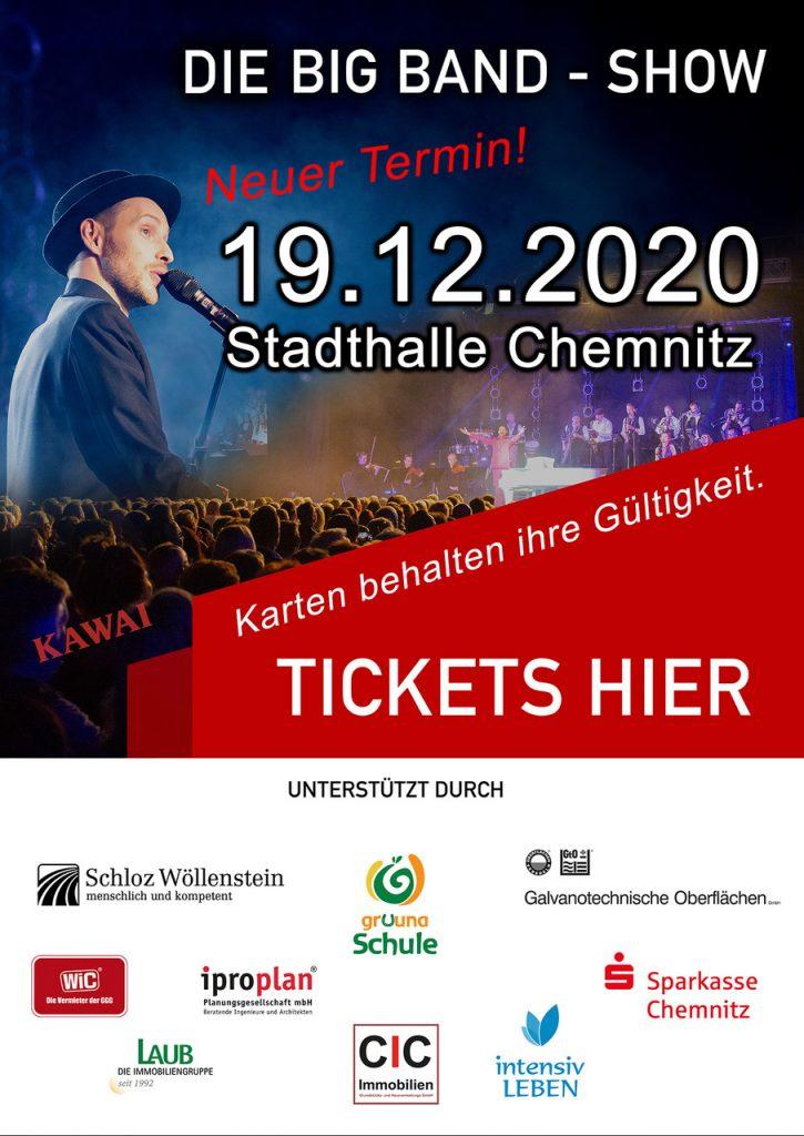 Pop up mit Ticketverlinkung und Sponsoernlogos Schmitt singt Jürgens - Die Udo Show