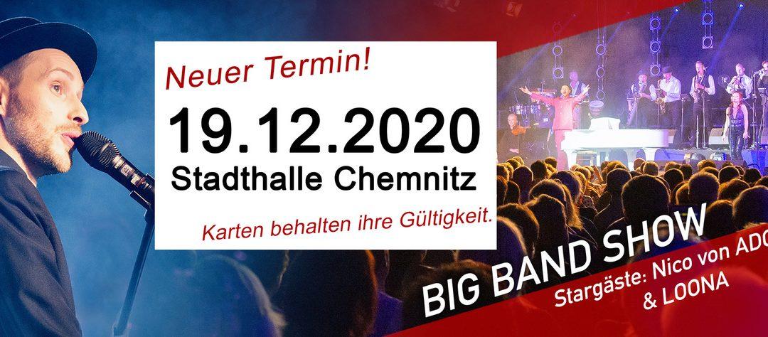 Neuer Termin für die Show in der Stadthalle Chemnitz