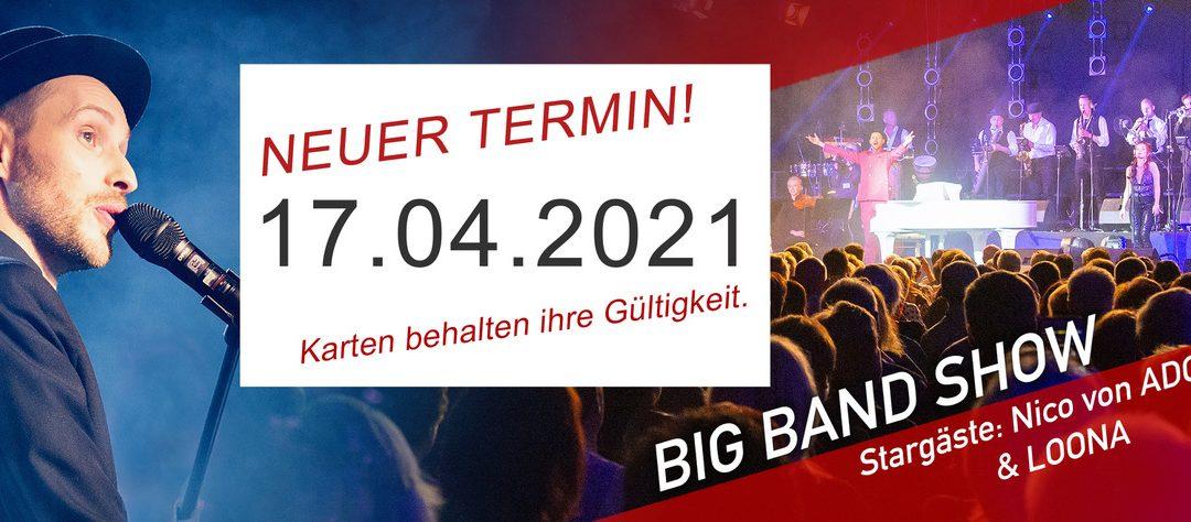 Neuer Termin für unsere Show in der Stadthalle Chemnitz